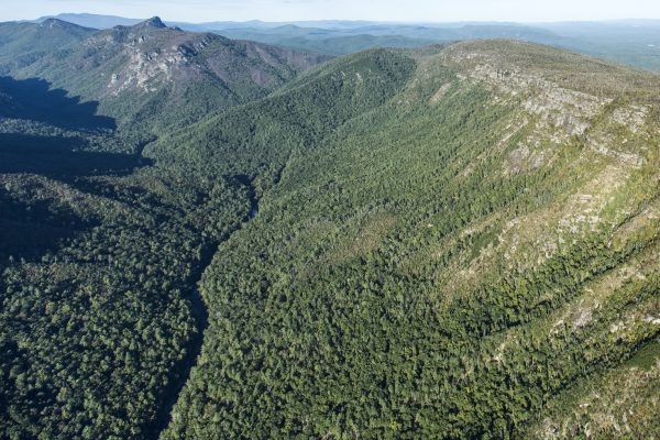 Linville Gorge Wilderness low altitude aerial photo over the Linville River in Burke County in Linville Falls, North Carolina - Pilot Anthony Pretorius - © 2015 David Oppenheimer - Performance Impressions Photography Archives - www.performanceimpressions.com
