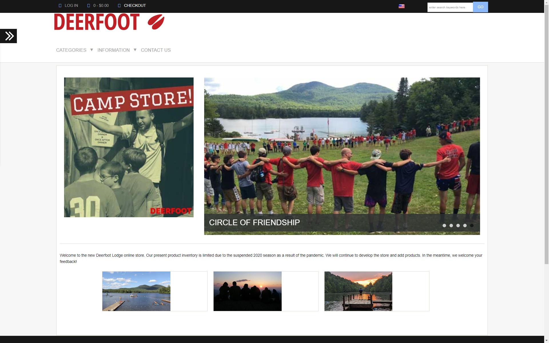 Online Camp Store is Open!